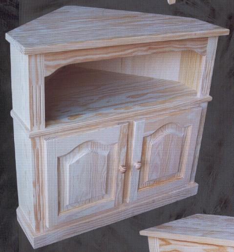 1436 mesa de t v de rincon 1436 mesas tv muebles de for Muebles de pino macizo