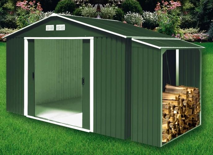 Lenero metalico lenero de metal duramax lenero casetas y cobertizos de metal jardin de - Casetas de metal para jardin ...